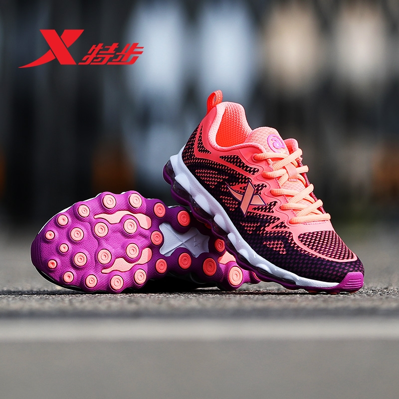 983118119201 XTEP Man Women Professional Running Shoes Air Cushion Outdoor Shoes Athletic Sport Shoes For Woman akexiya 2018 sport shoes woman sneakers red ladies running shoes air cushion outdoor athletic female shoes sports basket femme
