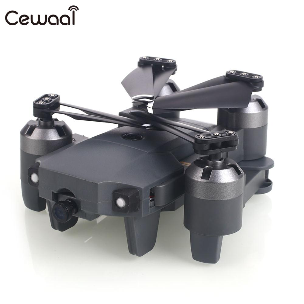 Headless mode throwing mode fixed high folding UAV receiving packet 640P WiFi real time  ...