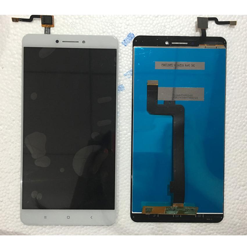 Prix pour Nouveau Meilleur de Travail Mi Max LCD Display + Écran Tactile Digitizer Assemblée Pour Xiaomi Mi Max Mobile Panneau de Verre de Remplacement