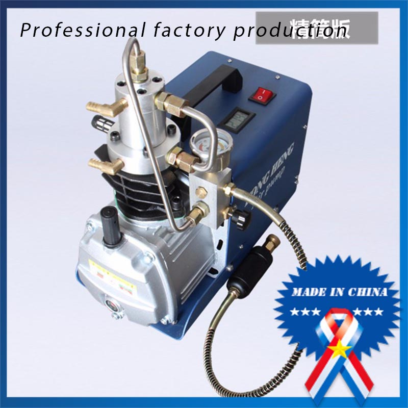 Electric 220v/110v High Pressure Updated Version 30MPa Air Compressor Rifle PCP automatic stop double cylinder pcp electric air pump 220v 50hz high pressure paintball air compressor with breath filter