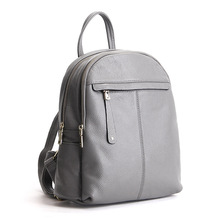 2017 Весенняя мода натуральная кожа женщины рюкзак элегантный дизайн школьная сумка для девочек простой Стиль женщины Bagpack Back Pack