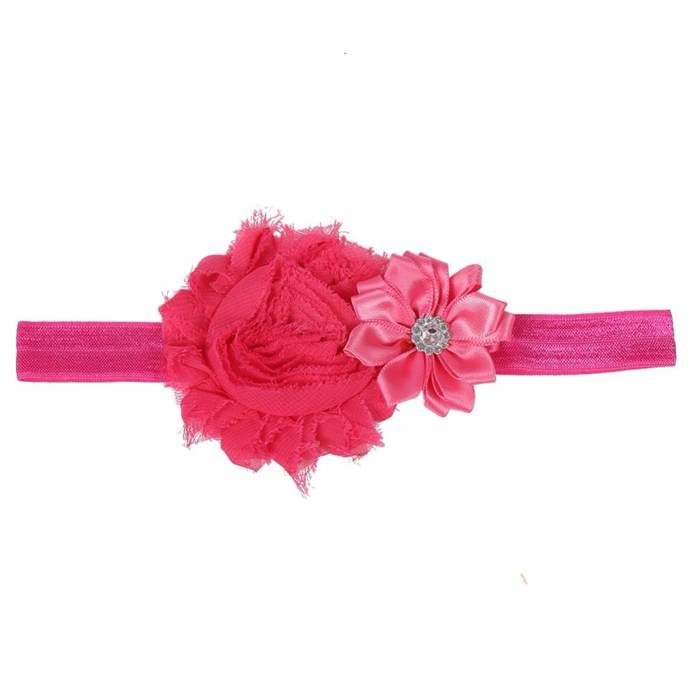 6 Colors Kids Babys Girls Toddler Princess Flower Headband Hair Band Headwear Accessories