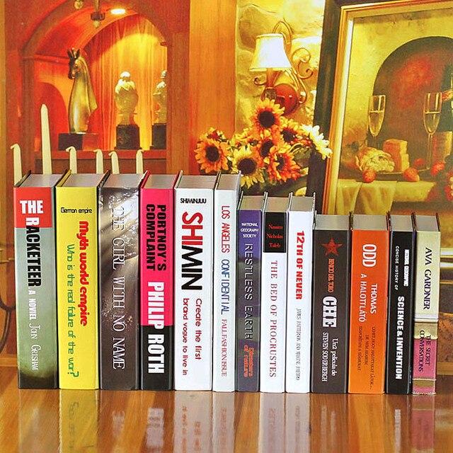 Dekorative Bücher 10 stück einfache moderne englisch reihe von dekorative bücher