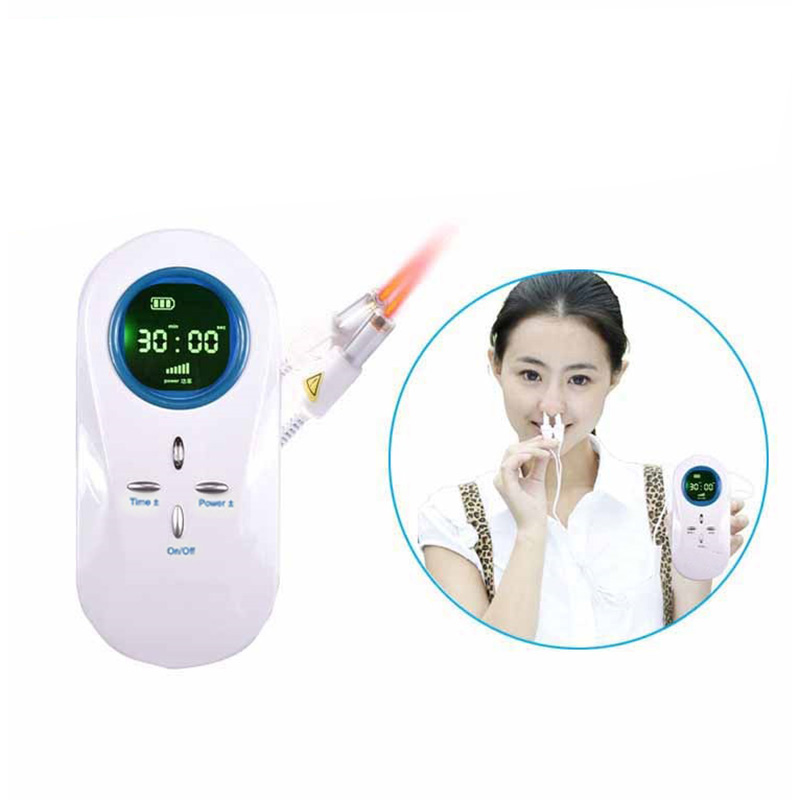 Rhinitis Therapy Sneezing Improved blood flow and microcirculation blood viscosity Cold Laser Therapentic Medical Laser Device in Massage Relaxation from Beauty Health