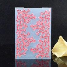Пластик Тиснение папку трава шаблон для Скрапбукинг DIY Фотоальбом ремесел подарок шаблон