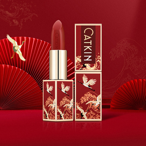Image 2 - Catkin Hydraterende Lipstick Met Zes Mooie Kleuren Silky Voeden Lip Stick Met Triple Plant Essentie Langdurige Waterdichte