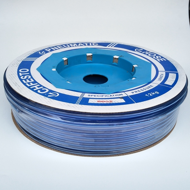 100meter/Roll  Pneumatic Tube PU8X5mm OD 8mm  ID 5mm Plastic Flexible Pipe Polyurethane Tube