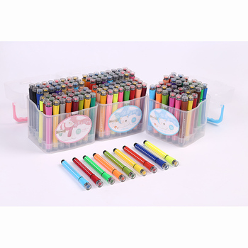 Akwarela długopis 12 18 24 kolor pieczęć kolor akwarela długopis zmywalny graffiti malarstwo pen