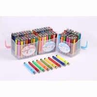 Watercolor pen 12 18 24  color seal color watercolor pen washable graffiti painting pen