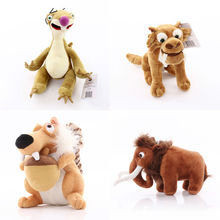 Ice Age Squirrel Scrat Plush Toy ICE AGE Stuffed Animals Soft Toys 8″ 20cm  4/ lot free shipping