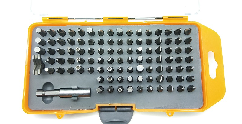 New  100pcs/set L 25mm Crv Magnetic Screwdriver Set Security Bit Set