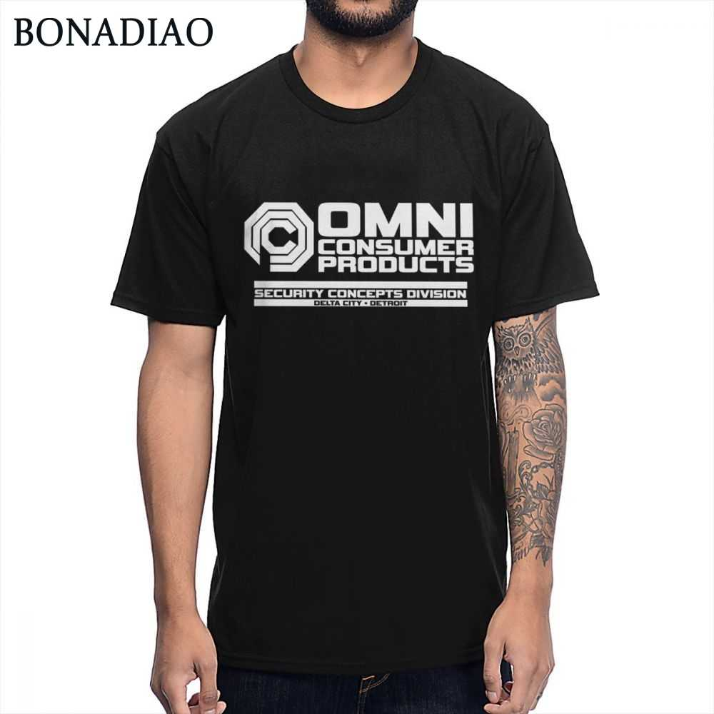 Science Fiction Film RoboCop T Shirt OCP OmniCorp Security Concepts Department T-Shirt Summer Casual Man Streetwear Tee Shirt