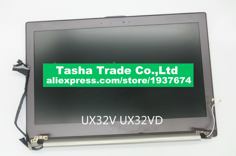 все цены на For Asus UX32 UX32V UX32VD LCD matrix screen LED assembly 1366*768 AND 1920*1080 100% tested Good working онлайн