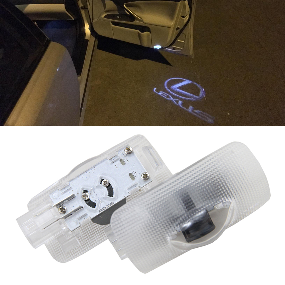 2 Pcs LED Projector Door Shadow Light Laser Emblem Logo Light for Lexus LS /ES 300/ IS/ IS 250/RS GS350/GX/RX 330 Welcome Light беспроводная акустика interstep sbs 150 funnybunny blue is ls sbs150blu 000b201