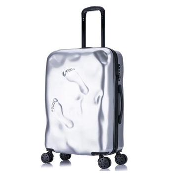 Rolling Spinner Luggage travel suitcase Women Trolley case with Wheels  20inch boarding Carry On Travel Bag Trunk Retro suitcase