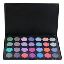 28 Full Color Luminous Shimmer Eyeshadow Makeup Palette Long Lasting Waterproof Diamond Eyeshadow Pigment Cosmetic Set Kit
