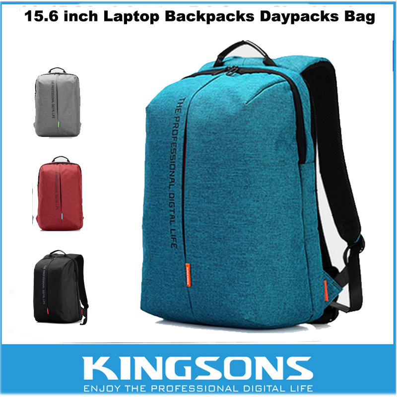 Kingsons Waterproof Antitheft Laptop Notebook Backpack 15.6 inch Computer Bag For iPad/Macbook/Asus/Lenovo/Dell/Sony/HP/Samsung