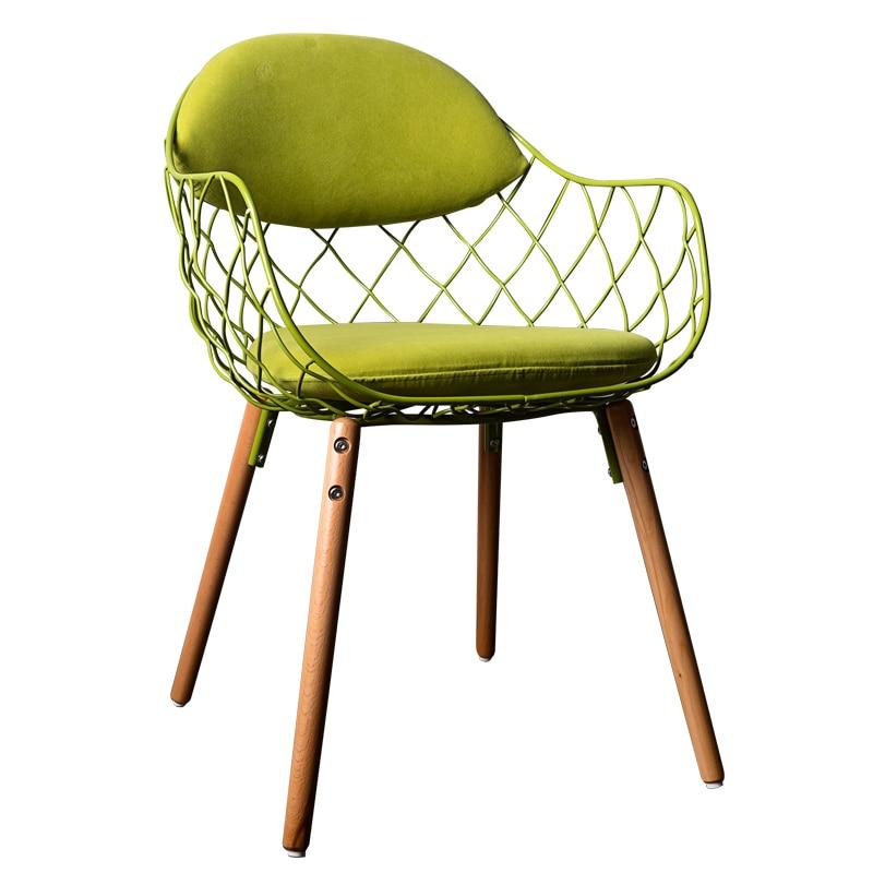frame wire basket double metal papasan chair