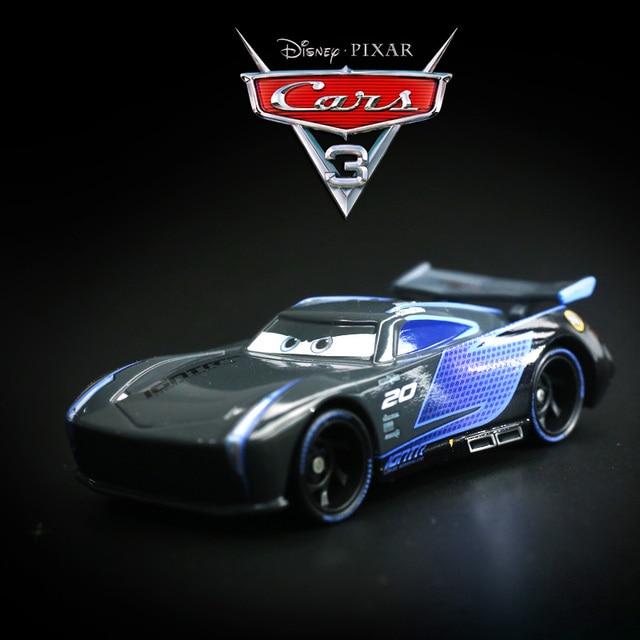 Disney Movie Pixar Cars 3 Lightning Mcqueen Hotest Black Jackson