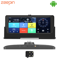 ZEEPIN 682 Android Dash Cam GPS Navigation 7 Inch Large Screen 4G 3G WiFi Bluetooth FHD