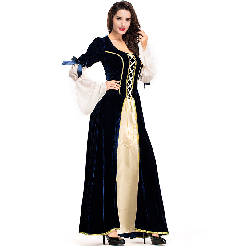 Woman s Renaissance Medieval Gothic Long Dress For Halloween Ball Gowns  Costumes Gypsy church Notre Dame Cosplay Dress on Aliexpress.com  8dba6992becf