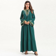 abayas for women muslim long abaya beautiful dresses Middle Eastern Long Dress Dubai Embroidery Muslim Y525