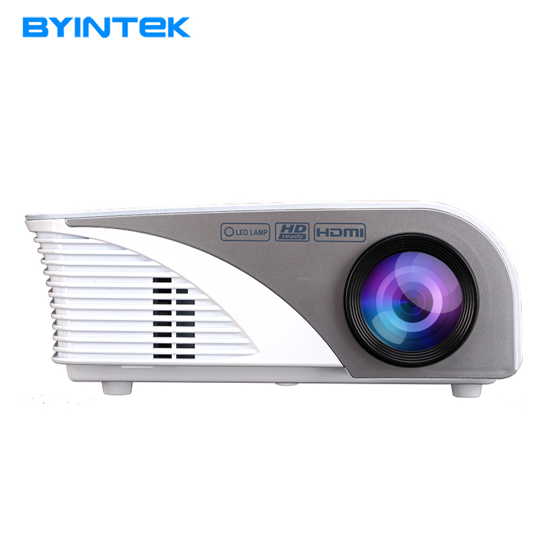 BYINTEK ML215 ML218 Mini Portable HD LED Video Projector Beamer For fULl hd 1080P Home Theatre Movie HDMI VGA USB dual hdmi sd usb av vga video movie proyector full hd easy micro projector emp gp8s lcd mini portable 4k