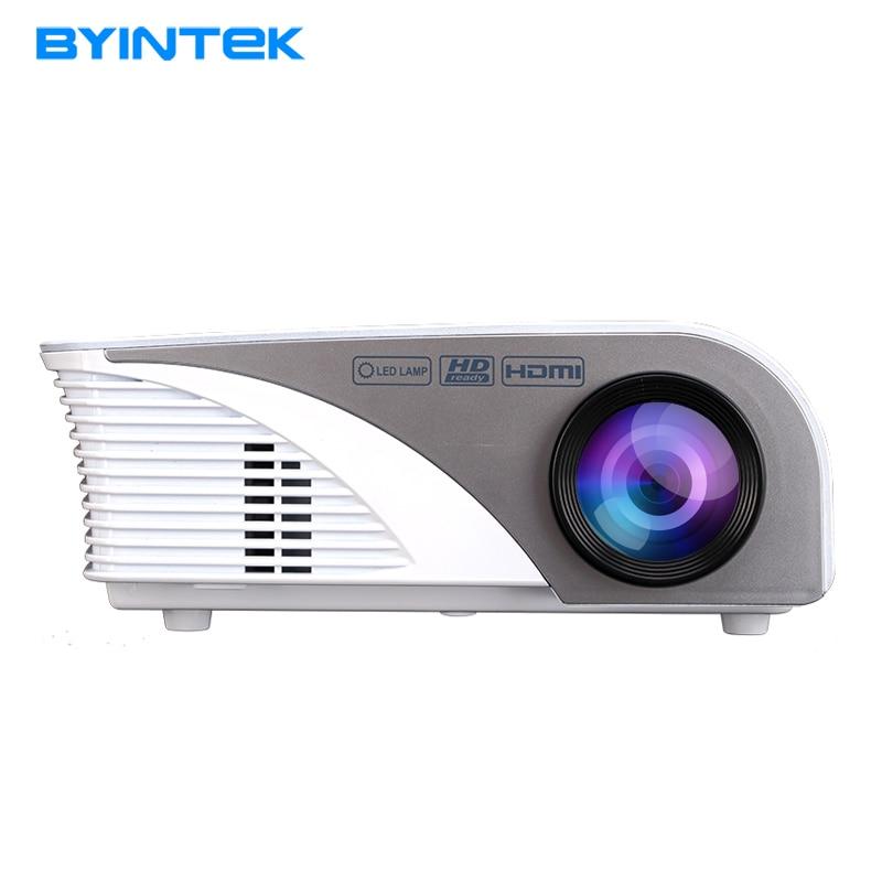 BYINTEK ML215 ML218 мини-проектор беспроводной Дисплей синхронизации более стабильной, чем беспроводной проектор для домашнего кинотеатра HDMI на VGA и USB