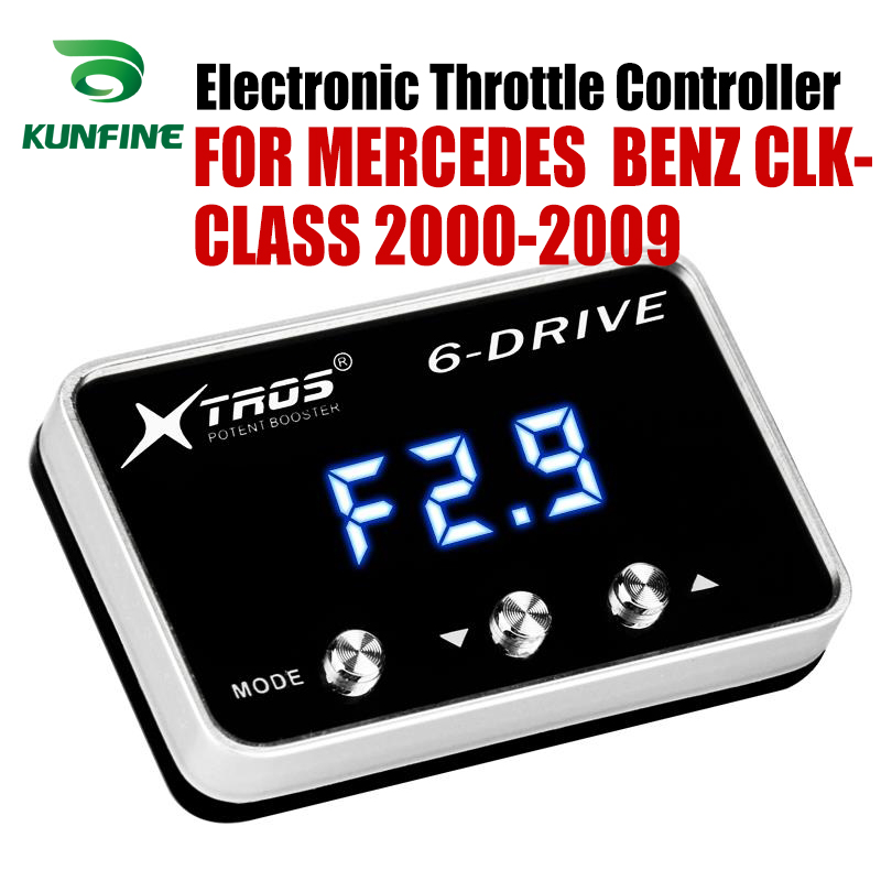 Car Electronic Throttle Controller Racing Accelerator Potent Booster For MERCEDES BENZ CLK-CLASS 2000-2009 Tuning Parts  Car Electronic Throttle Controller Racing Accelerator Potent Booster For MERCEDES BENZ CLK-CLASS 2000-2009 Tuning Parts