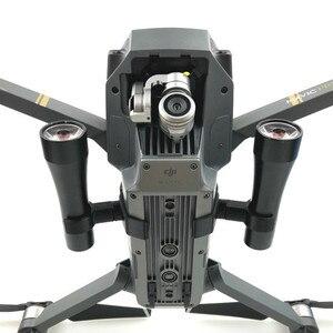 Image 2 - Mavic Pro Flaş LED Gece Dolgu Işığı Projektör lamba kiti için DJI Mavic Pro rc dört pervaneli helikopter Ile 4 K HD Kamera Drone aksesuarları