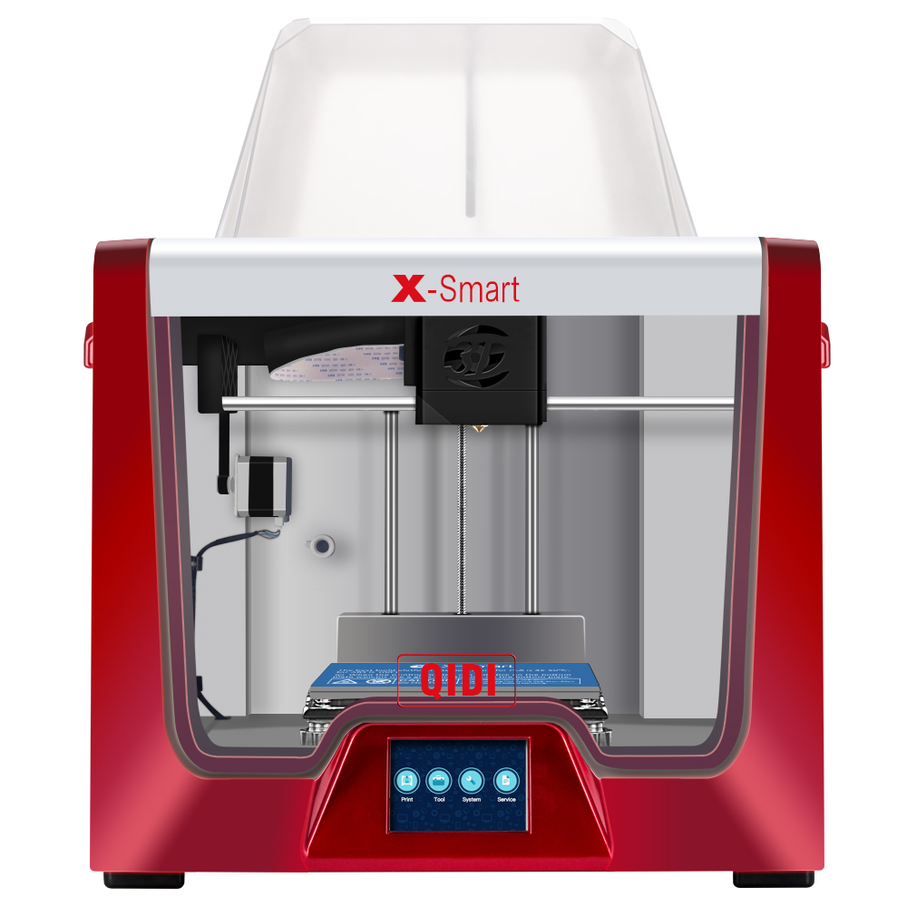 QIDI TECH 3D PRINTER X Smart 3 5 Inch Touch Screen heated removable bed Works With