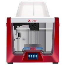 Qidi tech impressora 3d x smart 3.5 Polegada tela de toque aquecida cama removível funciona com abs e pla tpu 170mm * 150mm * 150mm