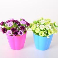 꽃병/Aliexpress 폭발 시뮬레이션 꽃 말린 꽃 장미 다이아몬드 정장 홈