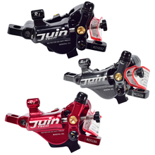 Taiwan JUIN TECH R1 public route pull oil disc brake oil disc travel folding bike flat road disc brakes flat disc mismatched earrings