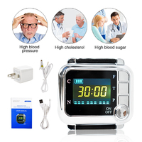 New CE TV 650nm Laser Therapy Watch Physiotherapy Wrist Diode LLLT For Diabetes hypertension Treatment Diabetic Watch With Box