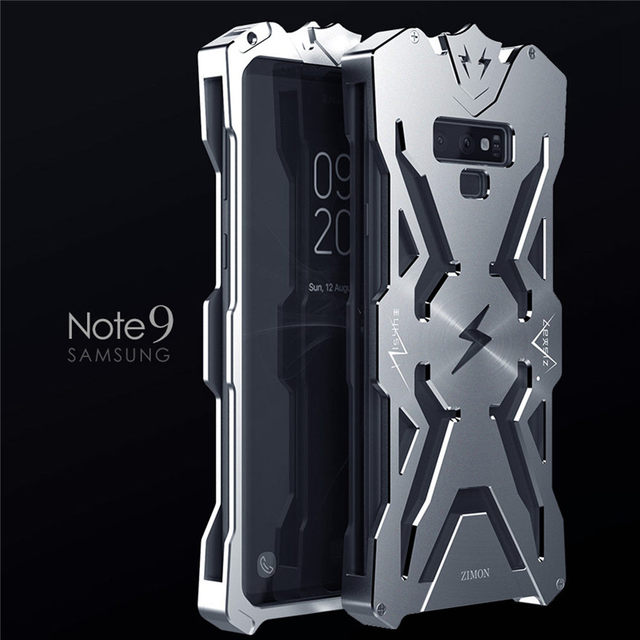official photos acd17 0753c US $26.76 |Luxury heavy duty protection doom armor metal aluminum phone  case shell for Samsung Galaxy Note 9 waterproof phone case cover-in Fitted  ...