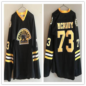 Vintage Men s 73 Charlie McAvoy Boston Bruins Hockey Jersey Embroidery  Stitched Customize any number and name 730bda576