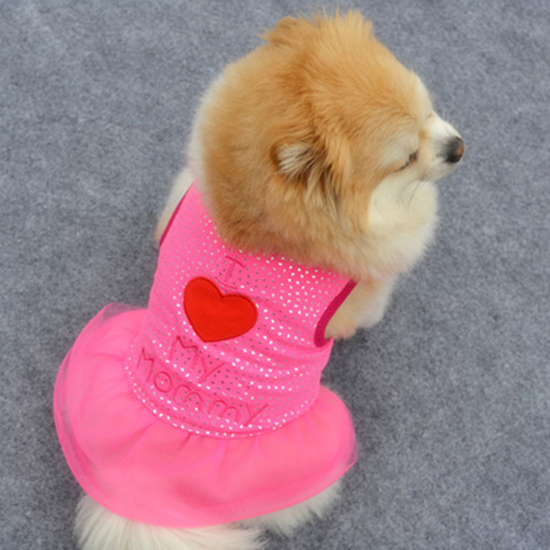 Hot Sale Summer Pet Puppy Small Dogs Apparel Vest Cat Coat Clothes T-shirt Vest Dress