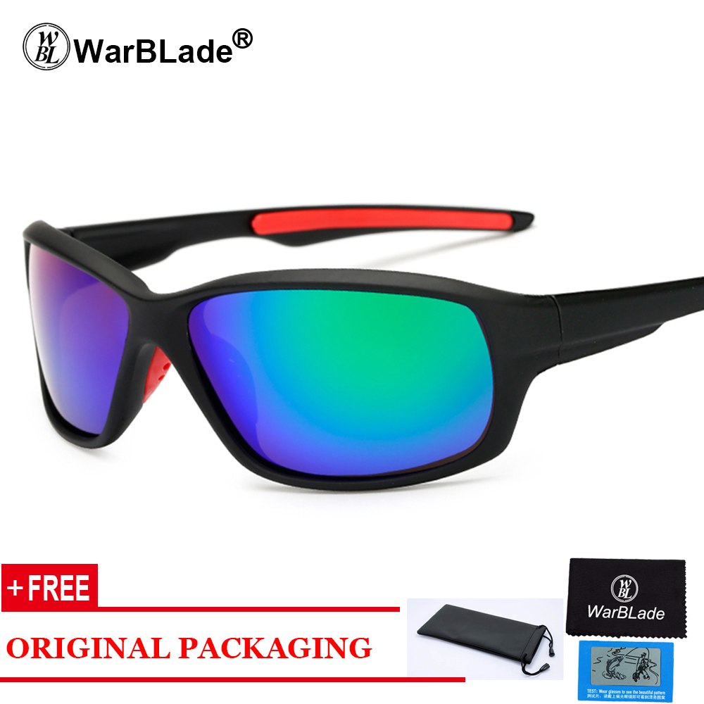 2018 New Polarized Men Sunglasses Fashion Gradient Male Driving Glass UV400 Polarised Goggle Eyewears lunette KP1009 WarBLade