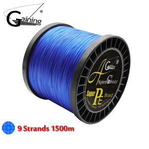 9 Strands 1500M Braided Fishing Line PE Wire Multifilament Fishing Line Braided Wire Ocean Boat Fishing