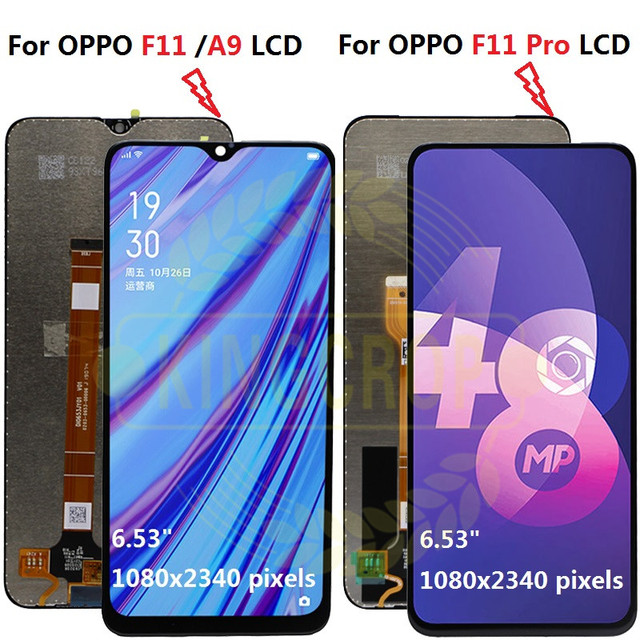 For OPPO F11 F 11 LCD CPH1913 CPH1911 For OPPO F11 pro CPH1969 Display Screen Touch Panel Digitizer Assembly For OPPO A9 lcd