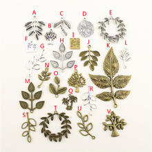 20Pcs Wholesale Bulk Diy Jewelry Accessories Palm Trees Hand Made Charms Charm Women Backless Dress HK212
