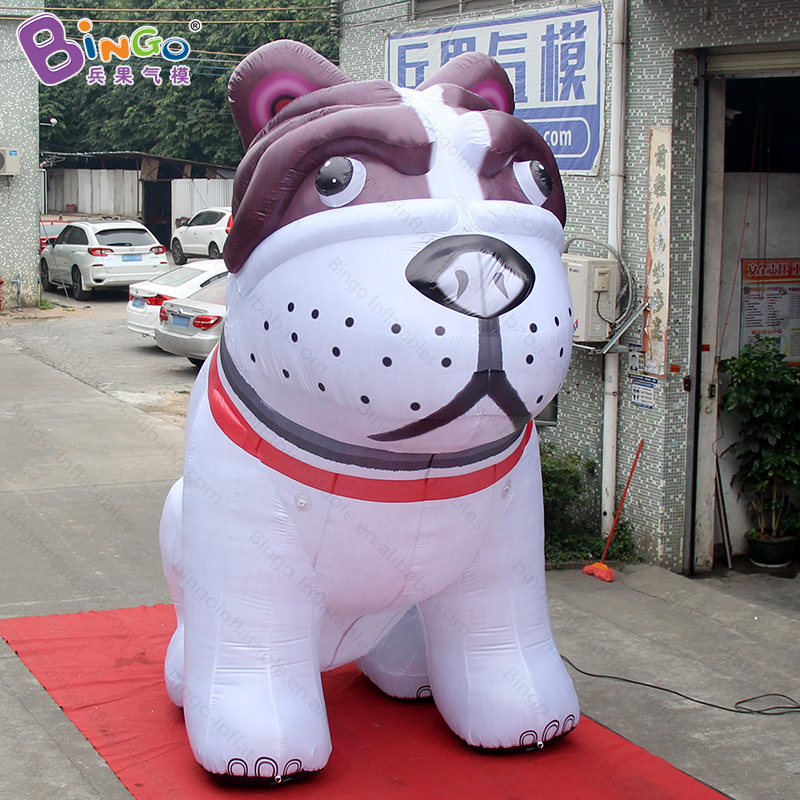 4 Meters High Oxford cloth inflatable dog animals , giant inflatable shar pei for outdoor events giant christmas inflatable 5m high inflatable christmas santa claus cartoon for outdoor party events festival toy