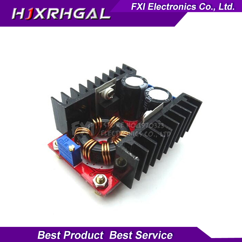 1pcs <font><b>150W</b></font> <font><b>Boost</b></font> <font><b>converter</b></font> Module <font><b>150W</b></font> Car 10-32V Turn 12-35V <font><b>Boost</b></font> module new image