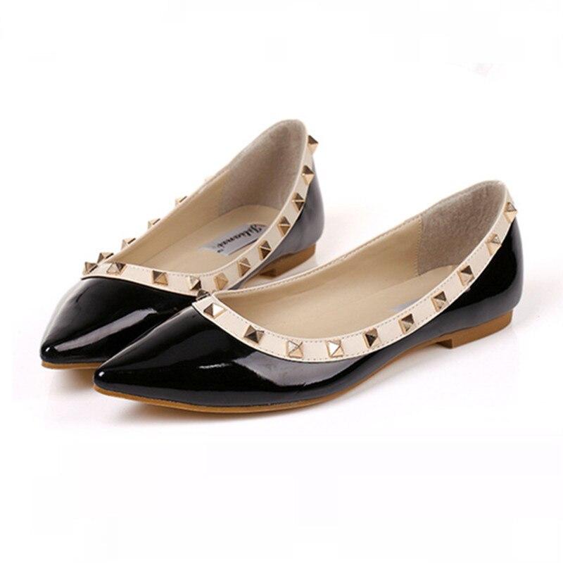 Shoes Brand V Designer Flats Shoes