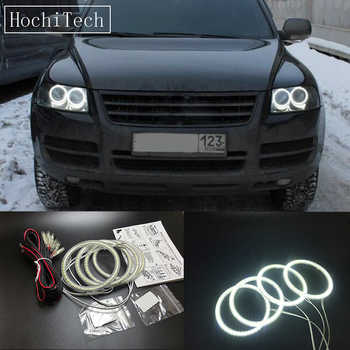 HochiTech Ultra bright SMD white LED angel eyes 12V halo ring kit daytime running light DRL for Volkswagen VW Touareg 2003-2006 - DISCOUNT ITEM  14% OFF Automobiles & Motorcycles