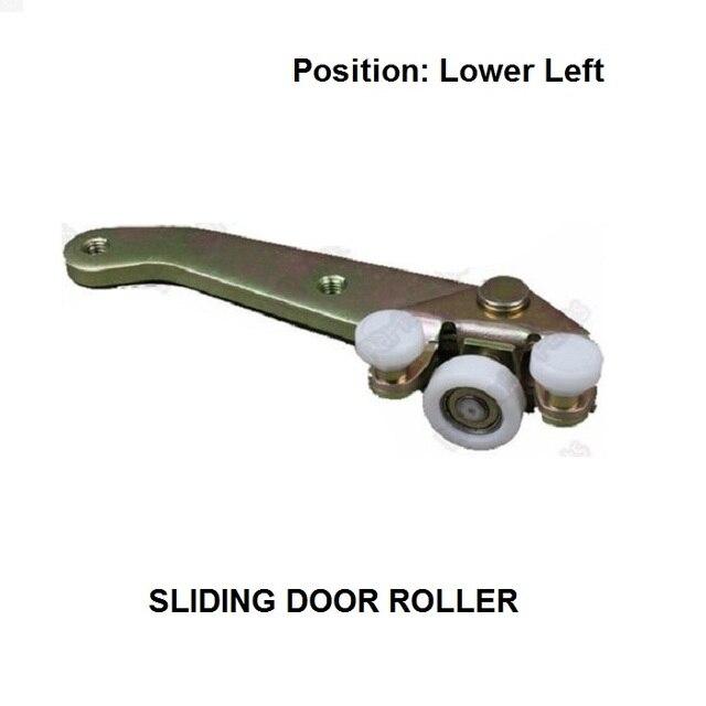 OE#701843405B FOR VW T4 Transporter Caravelle Sliding Door Roller Guide Bottom Lower Left Side 1990-2004 New