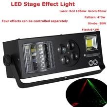 купить 2017 Newest DJ Disco Party Wedding Stage Effect Lights High Quality 4X3W Spot Stage Effect Lighting With 9 DMX Channel недорого