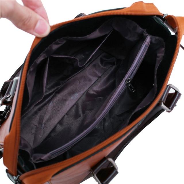 Women Composite Bag Luxury Leather Purse and Handbags Famous Brands Designer Sac Top-Handle Female Shoulder Bag 4pcs Ladies Set 5