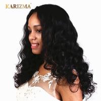 Karizma Hair Peruvian Loose Wave Natural Color 100% Human Hair Extensions Non Remy Hair Weave Bundles 1 Piece 8-28 inch
